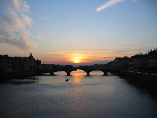 Arno_Sunset