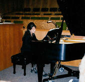 Playing_at_Lottie_s_Church_-_2006